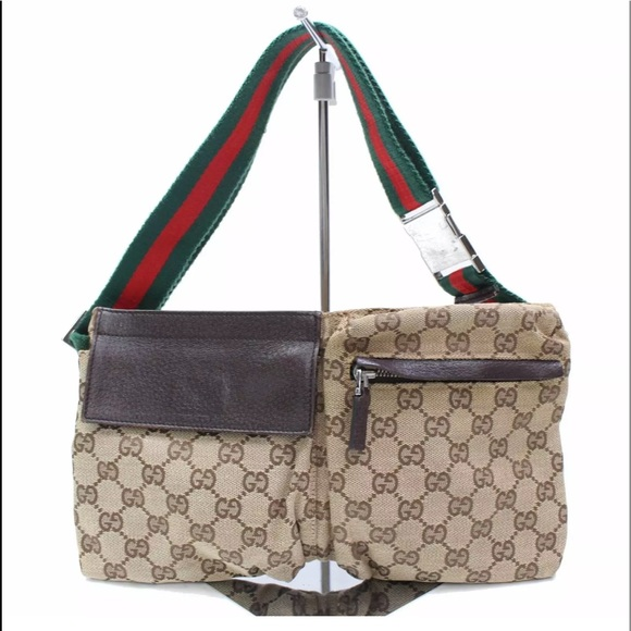 6a240eb3127a Gucci Handbags - Authentic GUCCI waist bag fanny pack bum bag